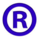 ocena zarejestrowany ikony Fotografia Royalty Free