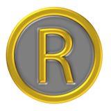 ocena zarejestrowany ikony Obraz Royalty Free