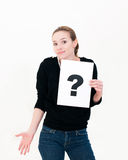oceny pytania znak Zdjęcie Stock