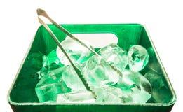 Is och behållare Royaltyfria Bilder