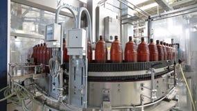 Ochakovo brewery stock video footage