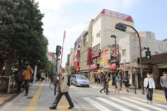Ochanomizu district of Tokyo, Japan. Royalty Free Stock Photography