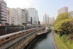 Ochanomizu district of Tokyo, Japan. Royalty Free Stock Image