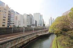 Ochanomizu district of Tokyo, Japan. Stock Photo