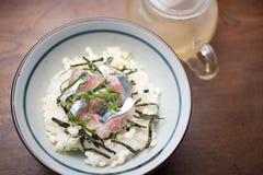 ochazuke японца кухни Стоковое Изображение RF