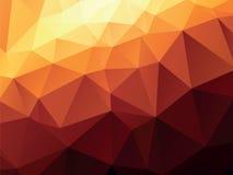 Ocher geometric background Stock Photos