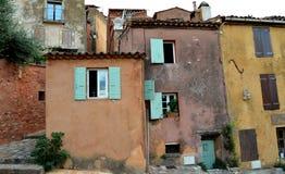 Ocher houses, Roussillon Stock Image