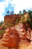 Ocher in Roussillon Stock Image