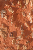 Ocher wall (Roussillon, France) Royalty Free Stock Photos
