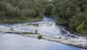 Ochiltree Dam. The dam, in Ochiltree, Scotland, UK Royalty Free Stock Photography