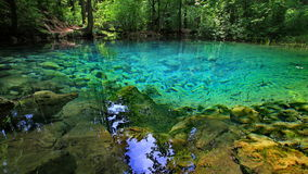Ochiul Bei Lake - la Roumanie Image stock