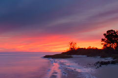 Ochlockonee Bay Sunrise Stock Photos