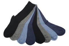 Ocho calcetines de los hombres Imágenes de archivo libres de regalías