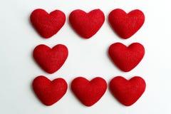 Ocho de corazones Foto de archivo