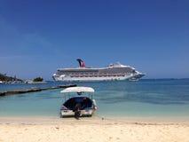 Ocho Rios Bay Beach, Jamaica Stock Photos