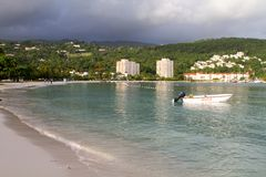 Ocho Rios At Dawn Stock Photo