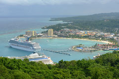 Ocho Rios, Jamaica Stock Photo