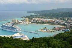 Ocho Rios and Carnival Victory, Jamaica Royalty Free Stock Photo