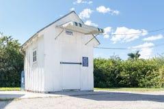 Ochopee stolpe - kontor på den Tamiami slingan, Everglades, Florida Royaltyfri Bild