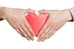 Ochraniać serce Zdjęcia Stock