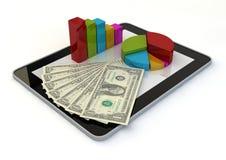Ochraniacza graficzny dolar Zdjęcie Stock