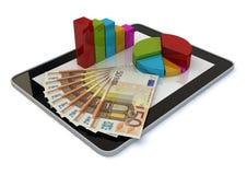 Ochraniacza graficzny euro Obraz Stock