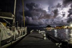 Ochraniająca żeglowanie łódź Zdjęcie Royalty Free