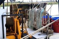 Ochraniający łódź doki fotografia stock