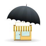 Ochraniający Biznes Obraz Stock