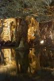 Ochraniający rezerwat przyrody w wschodniej części Czeski ryps i obraz royalty free