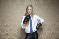 Ochraniający mój biznes Fotografia Royalty Free