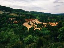 ochre шахты Стоковые Изображения RF