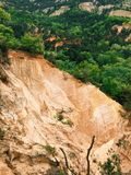 Ochre mine Royalty Free Stock Photo