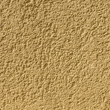 Ochre painted wall Royalty Free Stock Image