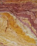 Ochre Pits in the Northern Territory in Australia Royalty Free Stock Images