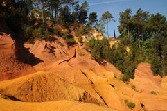 Ochre in Roussillon Royalty Free Stock Image
