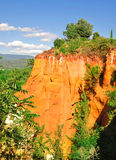 ochres Roussillon Στοκ εικόνες με δικαίωμα ελεύθερης χρήσης