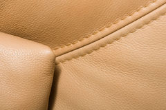 Ochri  leather Stock Photography