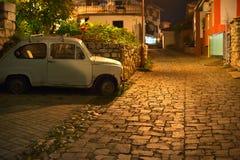 Ochrid Old Town Street, Macedonia Royalty Free Stock Photos