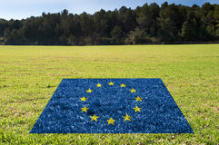 Ochrona środowisko w UE Fotografia Stock