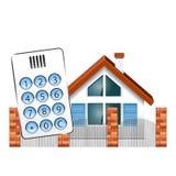 Ochrona alarm dla domu Obraz Royalty Free