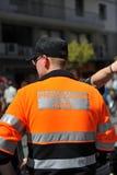 Ochrona cywilna agent, Hiszpania Zdjęcie Royalty Free