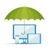 Ochrona dane d ilustracji