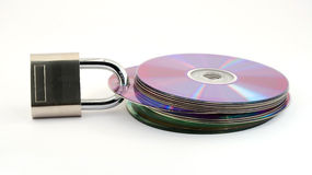 ochrona danych Obraz Royalty Free
