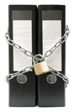 ochrona falcówki plików Fotografia Royalty Free