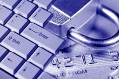 ochrona karty kredytowej obrazy stock