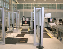 ochrona lotniska Obrazy Royalty Free
