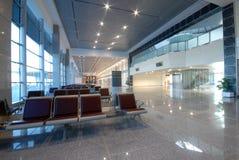 Ochrona lotniska i sala Fotografia Royalty Free