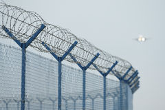 ochrona lotniska system zdjęcie stock