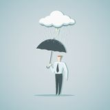 Ochrona od kryzysu gospodarczego ilustracji